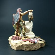 The Scythian with the head