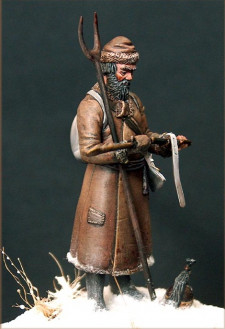 Trophy. Russian partisan 1812.