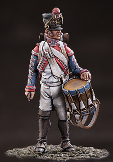 Drummer of the 48-th line infantry regiment. France, 1812