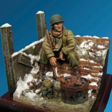 American Infantryman Ardennes 1944