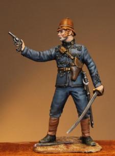 Officer of royal artillery 1879