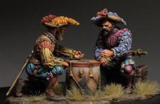 Playing landsknechts