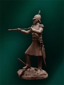 Staff Officer of infantry regiments