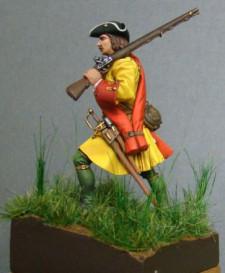 Russian fusilier of infantry regiments, 1709-20