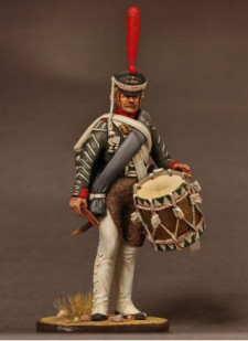 Russian drummer of grenadiers regiments, 1812-17