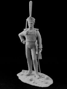 Russian ober-officer of grenadier  infantry regiments, 1812-17