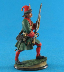Russian grenadier of Peter I, 1705-09