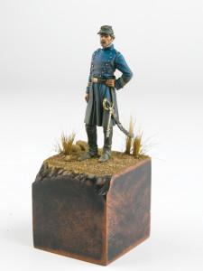 Artillery officer of chilean