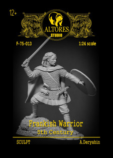 Frankish warrior. 5th century