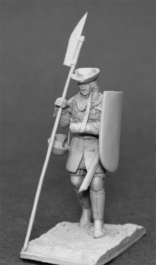 French infantryman XIVc.