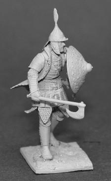 Ottoman infantryman XIVc.