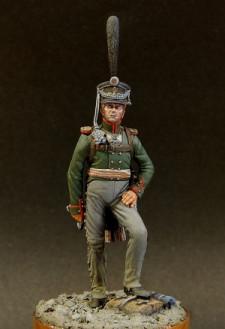 Russian officer of grenadier infantry regiments, 1812-15