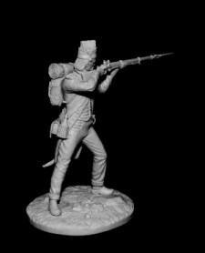 French grenadier of line infantry semi-brigades, 1794-1801