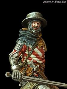 European warrior of 1410-1415