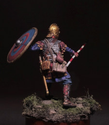 Late Roman infantry second half of 4th c. AD