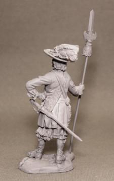 Infantry officer 1645-1660