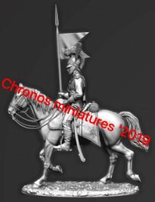 Guards regiment of Chevau-léger (Lancers), Westphalia 1811-13