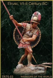Etrusc, VII-II century BC