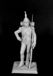 Italian fusilier of a Legion Piemonte, 1805-09.