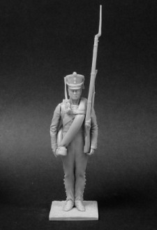 Private of the musketeer (or Jaeger) regiments, Russia 1812-14