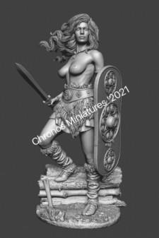 Worlds Of Fantasy: Celtic woman warrior