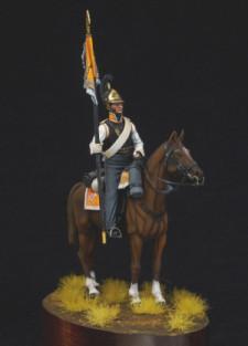 Standard-bearer of cuirassier regiments, Russia 1812-14