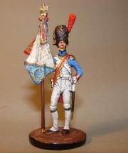 Standard-Bearer of 3d. Infantry Regiment, 1812