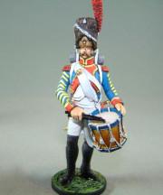 Grenadier Drummer, 18th Regiment, 1809