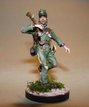 Soldat, 95th Rifles England 1809