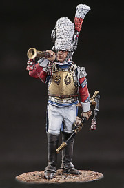 Senior trumpeter of the 1-st or 2-nd Carabinier regiments. France, 1810.