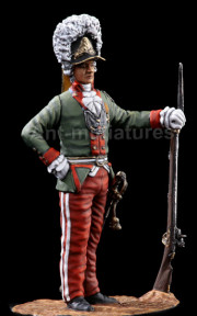 Officer of the grenadier regiment. Russia, 1792.