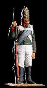 Fusilier of the Pavlov Grenadiers, 1812.