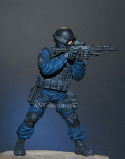 Officer of Speznaz of FSB. Russia.