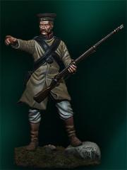 Infantryman of Borodino Chasseur Regiment