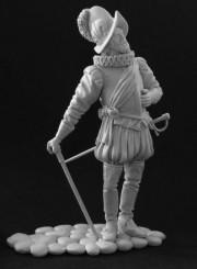 Spanish officer, 16 century