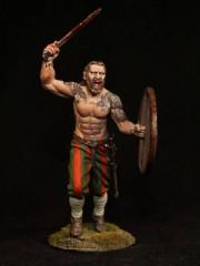 Viking berserker, IX-X centuries.