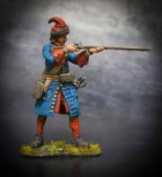 Russian grenadier of infantry regiments, 1708-10