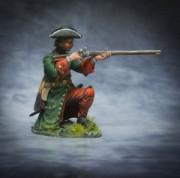 Russian fusilier of infantry regiments, 1708-10