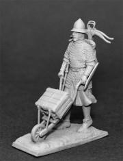 French infantryman XIVc.