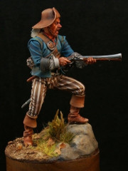 Pirate with blunderbuss, 18 century