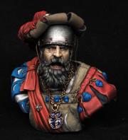 Captain landsknechts, XVI c.