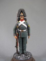 Private of grenadiers (or carabiniers) regiments, Russia 1855-57