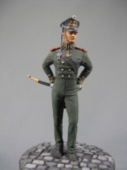 Russian officer of the Guards crew