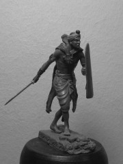 Ancient Indian warrior