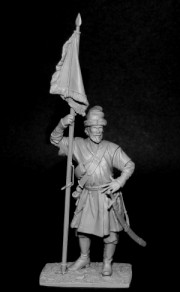 Standard-bearer of the reiter regiments, Russia 1655-99
