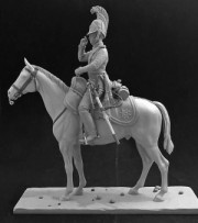 Russian officer of the Life-Guard Dragoon regiment, 1812-15