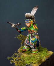 Pow wow dancer -boy