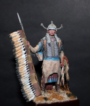 Sioux warrior XIX c.
