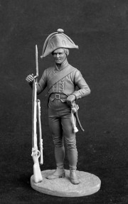 Musketeer of infantry regiments, Prussia 1800-07