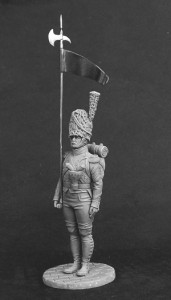 2nd Eagle-bearer of the 3rd Swiss infantry regiment, 1809-12
